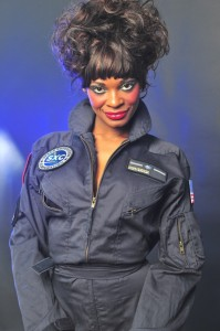 coco brown 199x300 Hark! Coco Brown is the first porn star in space! (photos)