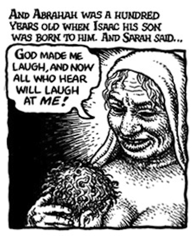 crumb genesis 9 Study the Bible, with Robert Crumb's Book of Genesis