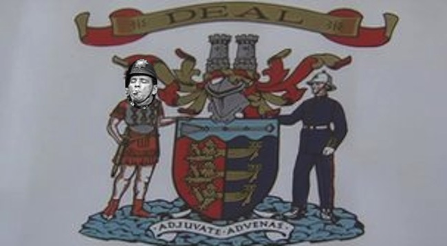 deal Heraldry goes mad in Deal