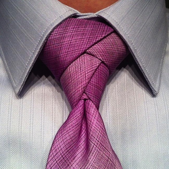eldredge knot 1 How to tie an Eldredge Knot in your neck tie