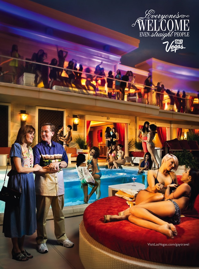 gay vegas Bad Ads: Las Vegas is where the gays go to laugh at straight couples 
