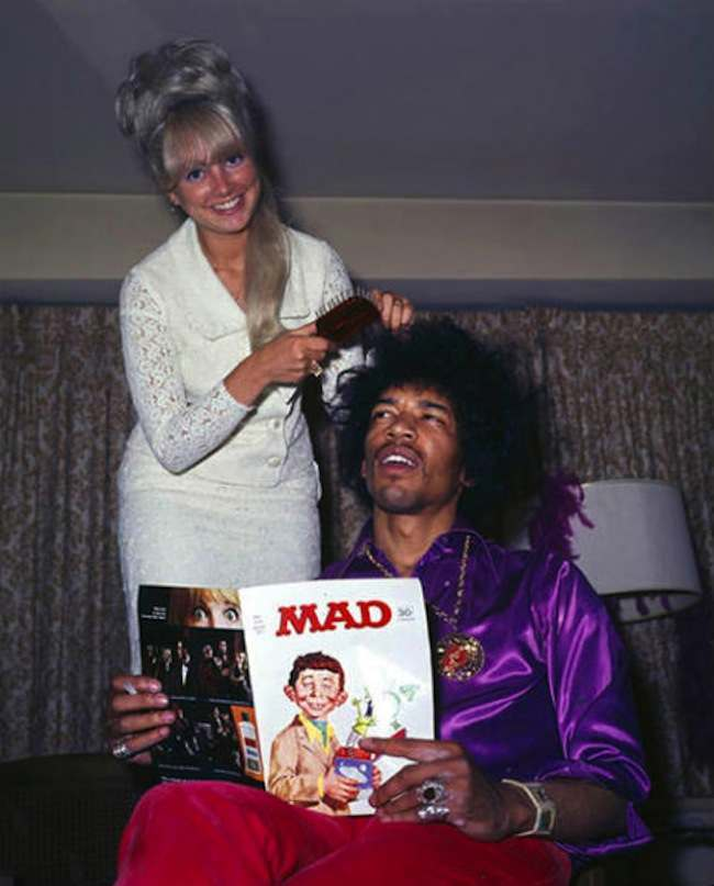 jimi hendrix mad magazine When We Went Mad: the documentary of Mad Magazine (with added Jimi Hendrix fold in)