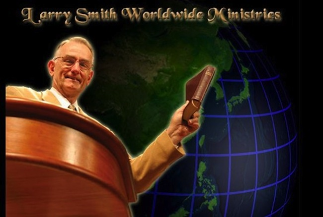 larry smith Preacher abuses talking congregant at First Baptist Church of Hammond (video)