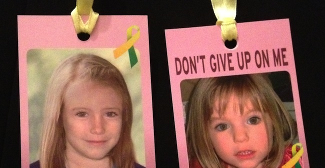luggage tags Is Madeleine McCann in Ukraine? No   but her posters are