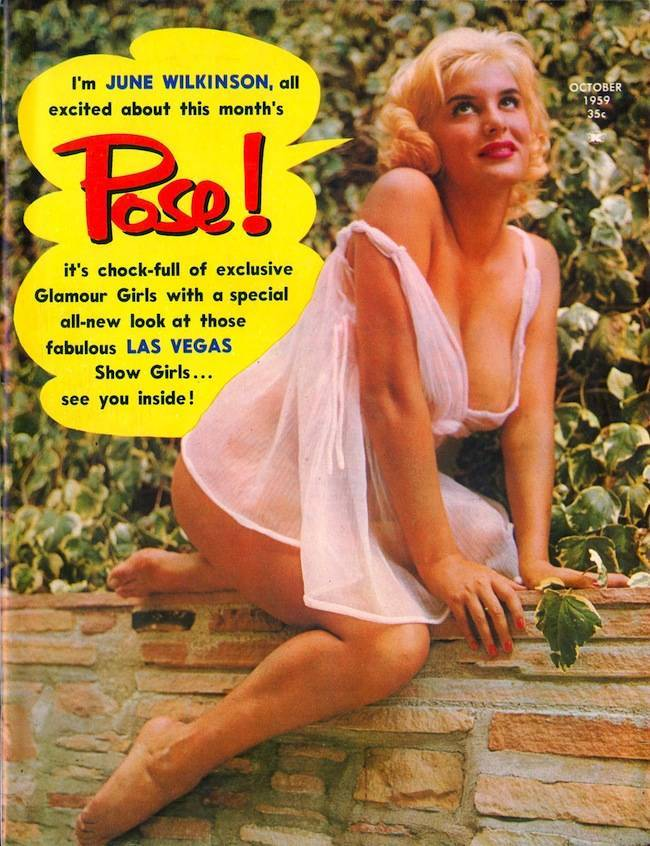 pose vol3 no12 oct1959 001 In 1959 Pose magazine let the pin ups speak