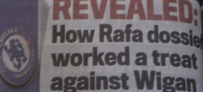 rafa dossier Chelsea FC: The truth about Rafa Benitezs magic dossier