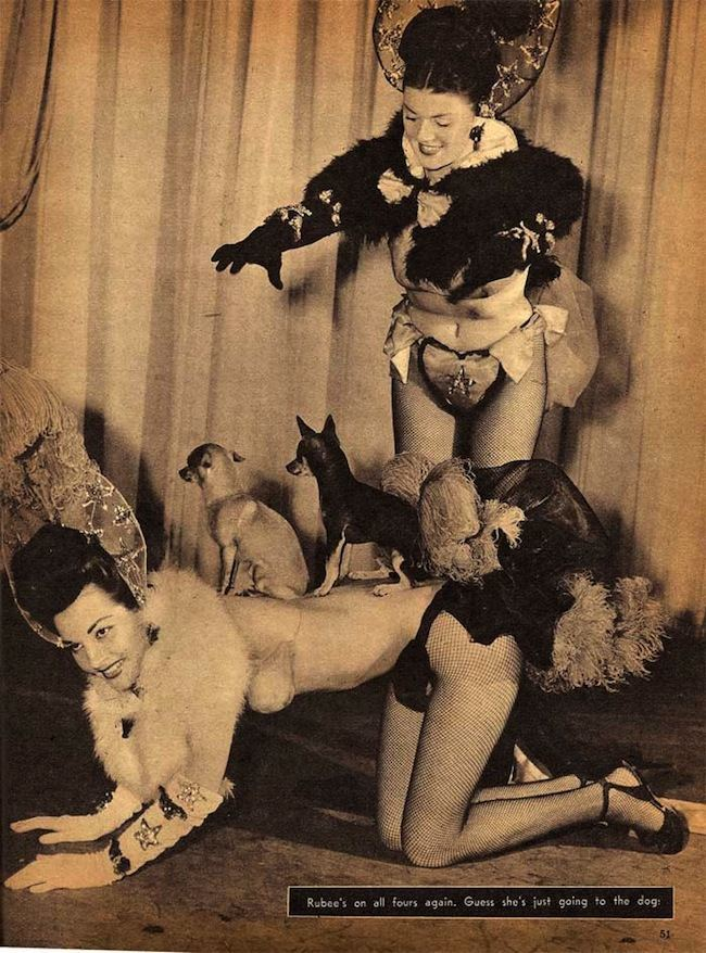 sir 1950 4 Sir magazine retrospective: Bettie Page, naked Doukhobors and marijuana addicts