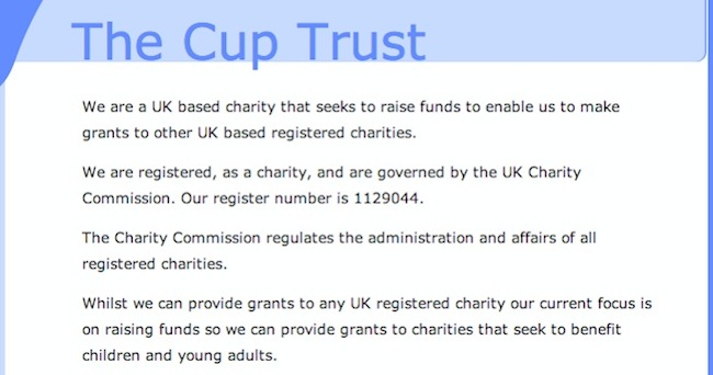 the cup trust Now thats what I call tax avoidance: the Cup Trust