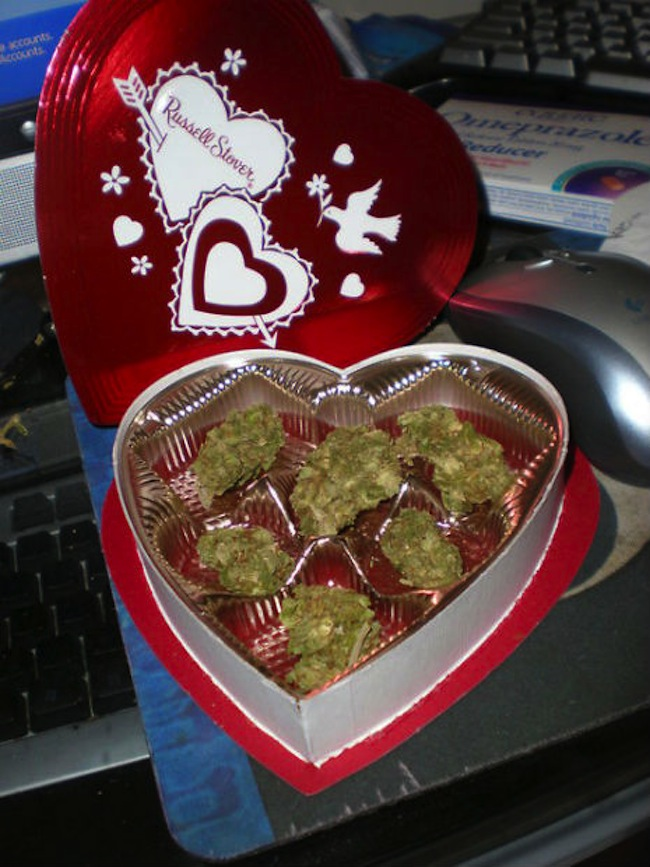 d4066f39ff9d9 Anorak News | You're smokin': a marijuana gift for St Valentine's Day