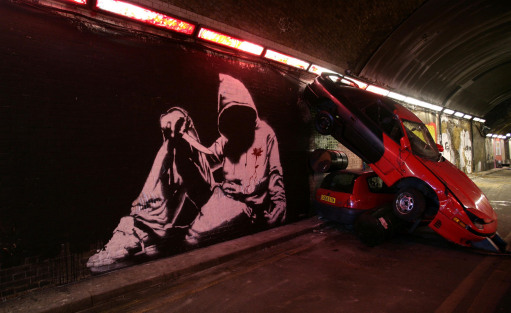 5909363 99 acts of vandalism by BANKSY