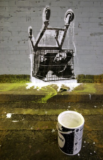 5941398 99 acts of vandalism by BANKSY