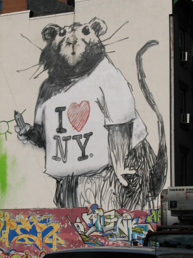 New Banksy work in New York