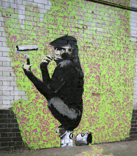 7346154 99 acts of vandalism by BANKSY