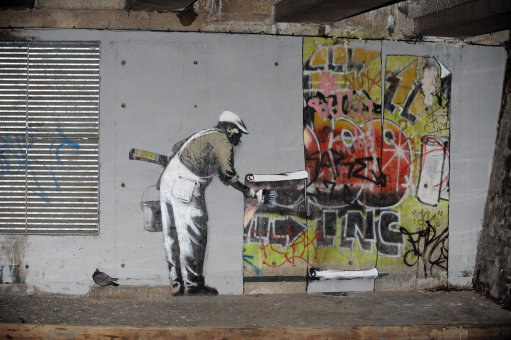 New Banksy artwork - London