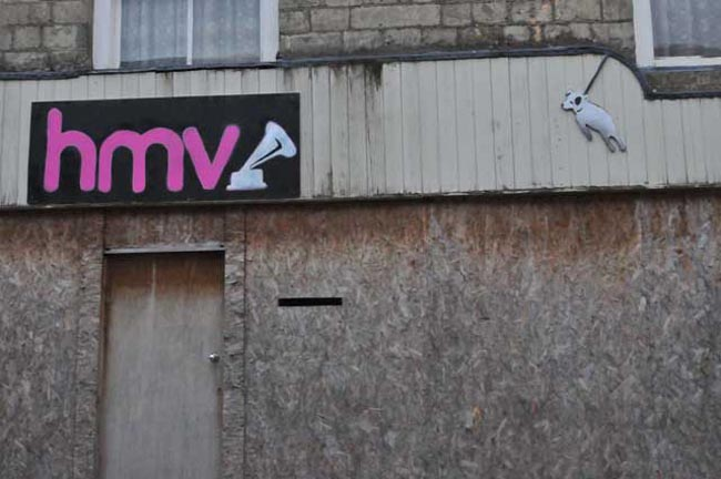 HMV syd Malmesbury gets a make over