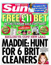 HUNt maddie Madeleine McCann: six or eight British cleaners in a mysterious white van