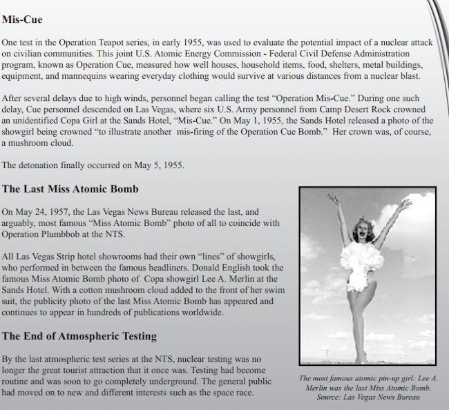 MissAtomicBomb 4 Miss Atomic Bomb: when Vegas showgirls put the sex in Armageddon (photos)