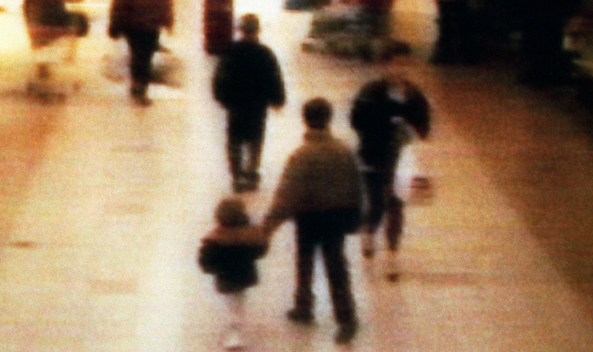 James Bulger - videograb