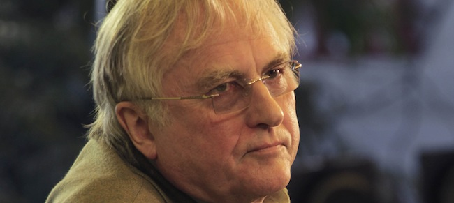 PA 12574402 Richard Dawkins forgets what |slam is