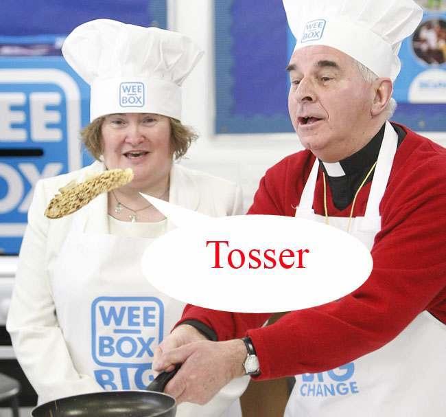 Susan Boyle pancake day