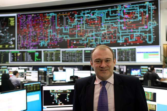 Davey visits Electricity National Control Centre