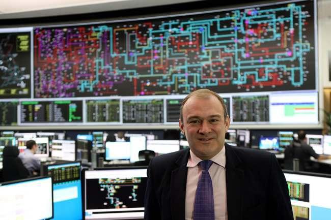 Davey visits Electricity National Control Centre
