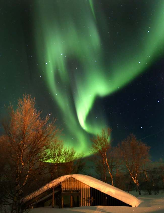 PA 16005742 In photos: the Royal Marines Commando cold weather warfare camp, Norway (with epic Northern Lights show)