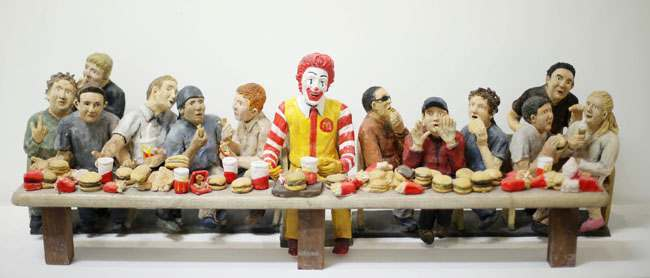 The Gluteny at the last supper