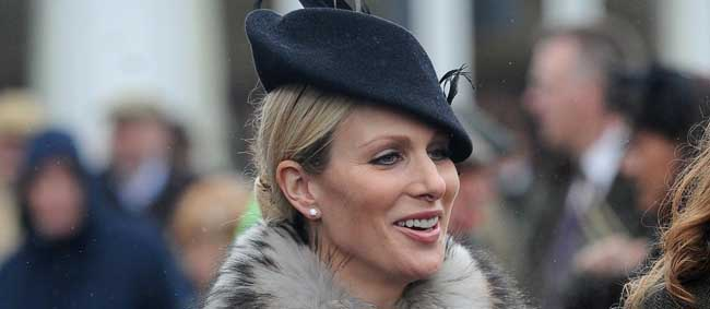 PA 16053311 When Zara Phillips met an unnamed overzealous guard at the Cheltenham Festival