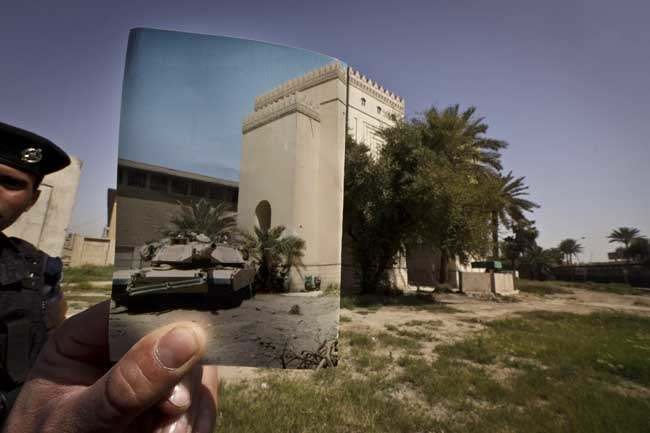 PA 16076594 On This Site: photos of Iraq then and 10 years after the invasion