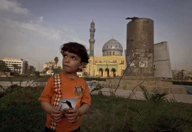 PA 16076600 On This Site: photos of Iraq then and 10 years after the invasion