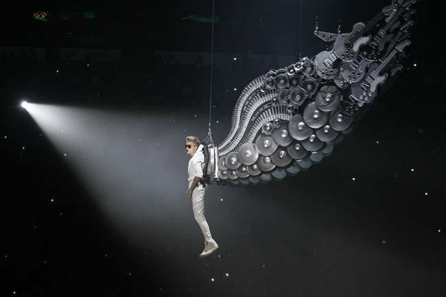 Justin Bieber in concert - Paris