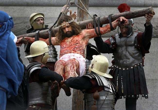 Britain Passion of Jesus