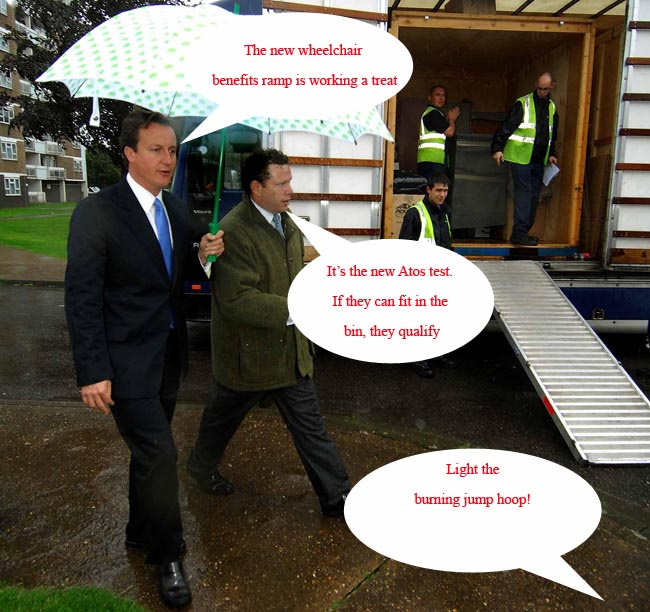 David Cameron visits flood affected Lincoln
