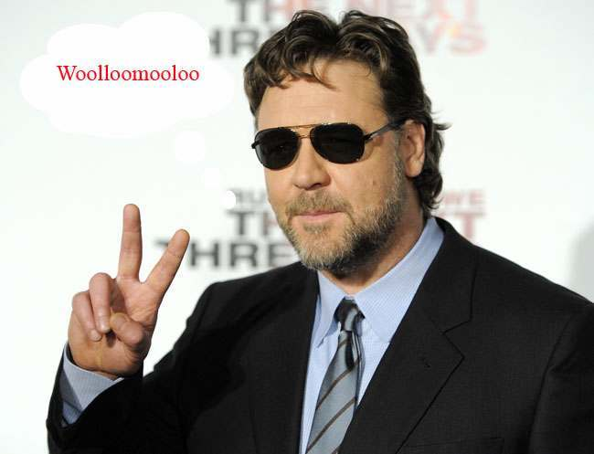 PA 9792209 Russell Crowe has filmed a real UFO outside his office in Woolloomooloo (and fruit bats)