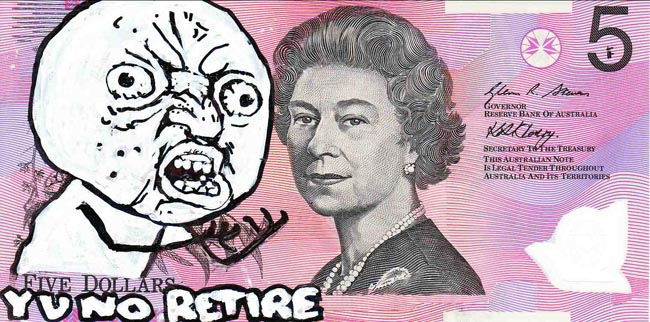 Queen aussie 23 Artist gives Queen Elizabeth a make over on Australian five dollar note
