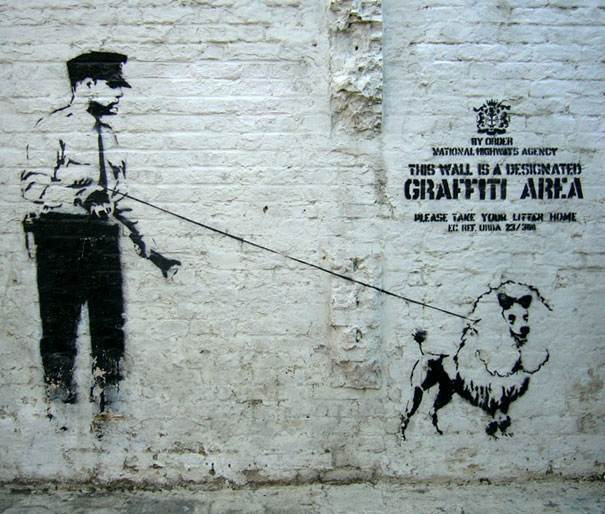 banksy graffiti 25 99 acts of vandalism by BANKSY