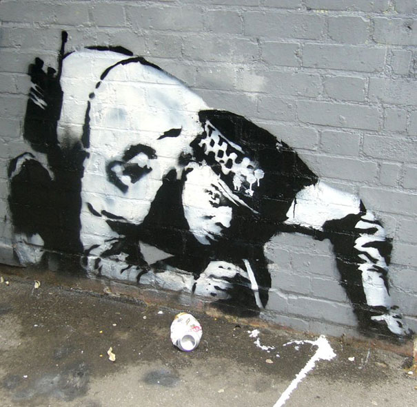 banksy graffiti 8 99 acts of vandalism by BANKSY