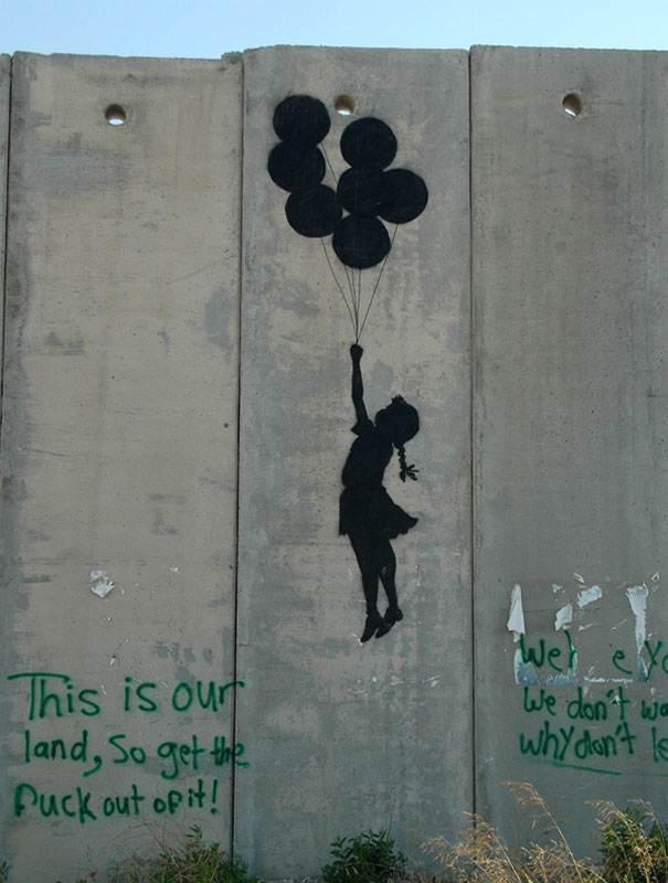 banksy israel 6