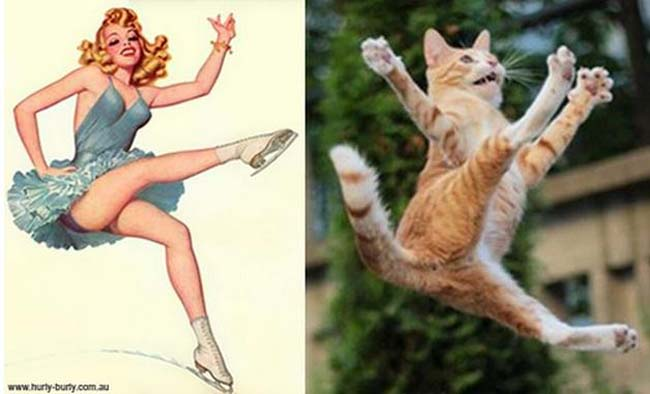 cat pin up girls 8