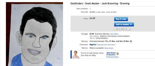 eastenders scott eBay seller thedoctorwhoguide2012s 10 best offers (these are fantastic)