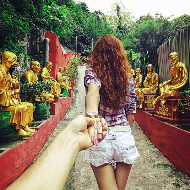girlfriend travel 1 Follow Me To: a photographer follows his lover around the world