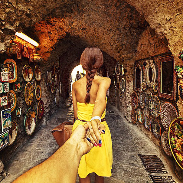 girlfriend travel 3 Follow Me To: a photographer follows his lover around the world