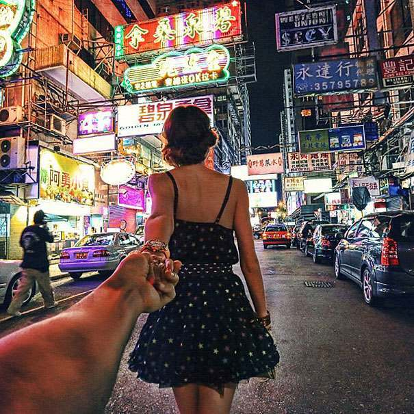 girlfriend travel 4 Follow Me To: a photographer follows his lover around the world