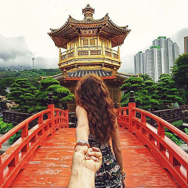 girlfriend travel 5 Follow Me To: a photographer follows his lover around the world