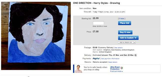 harry styles eBay seller thedoctorwhoguide2012s 10 best offers (these are fantastic)