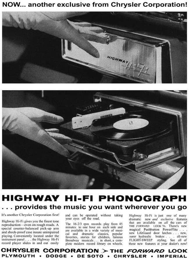 hifi highway 8 Highway Hi Fit Phonograph