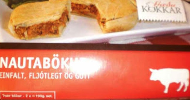icelandic beef Icelandic beef pies contains no meat at all