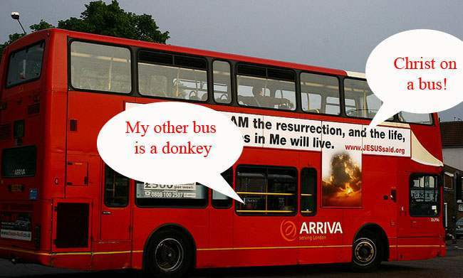 jesus bus wales 1 Pupils not allowed on Welsh bus without proof of believing in Jesus: no Muslims, Jews and Jedis allowed
