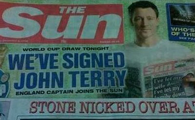 john terry sue1 Operation Elveden: Ex police officer guilty of telling on John Terrys mum